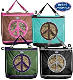 Peace Lovin' Hay Bag – Black, Bags Central