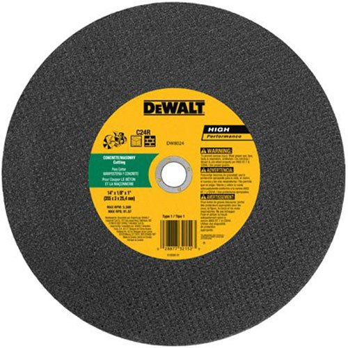 DEWALT ACCESSORIES DW8024 Concentrate Cut Wheel