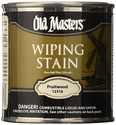 Minwax Fruitwood Stain (OLD MASTERS 12316 WIP Stain, Fruitwood)