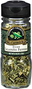 McCormick Gourmet Collection, Jalapeo Peppers Diced, 0.45-Ounce