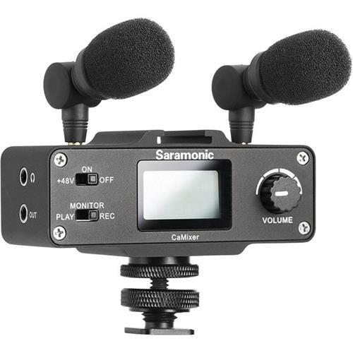 Saramonic SRCAMIXER Mini Preamp Audio Adapter Saramonic Mini Preamp Audio Adapter