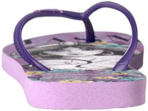 Lilac Slim Havaianas Women's Princesas Flop Flip Soft xYxavqgw