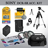 Advanced Accessory Kit for the Sony SR42 SR45 SR62 SR65 SR82 SR85 Handycam Camcorder