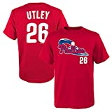 Outerstuff Chase Utley MLB Philadelphia Phillies Red Jersey T-Shirt Boys Youth (XS-2XL)