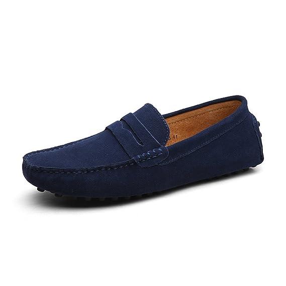 Chaussures Penny Conduite Chaussures Cuir Suède Homme CCZZ Mocassin QdthsrC