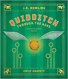 QUIDDITCH Through The Ages 1:6 Scale Miniature Illustrated Readable Book Potter