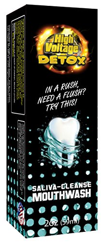 High Voltage Saliva Cleanser Mouthwash Mouth Body Detox ()