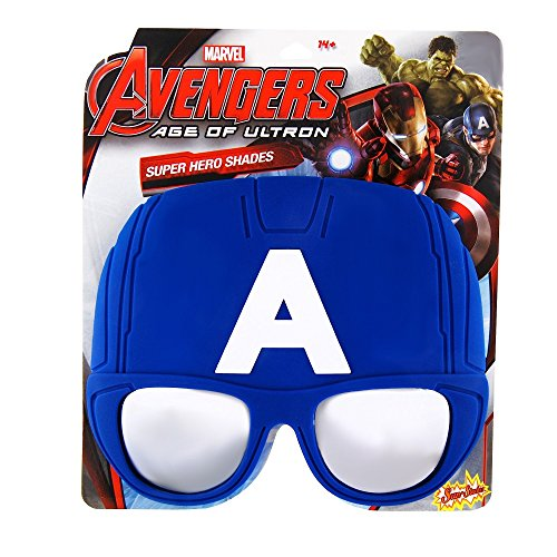 Sunstaches Officially Licensed Captain America Sunglasses