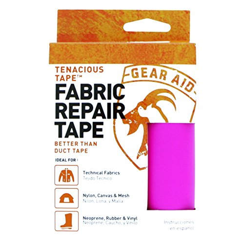 McNett Gear Aid Tenacious Tape Ultra Strong Flexible Outdoor Repairs Pink