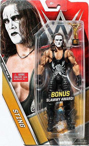 WWE Basic Series 68B Sting Action Figure with Bonus Slammy Award