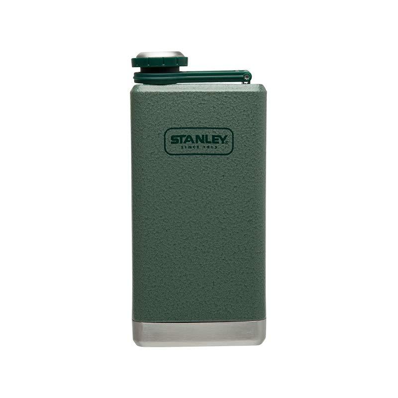 Stanley Adventure Stainless Steel Flask 8oz Hammertone Green by Stanley