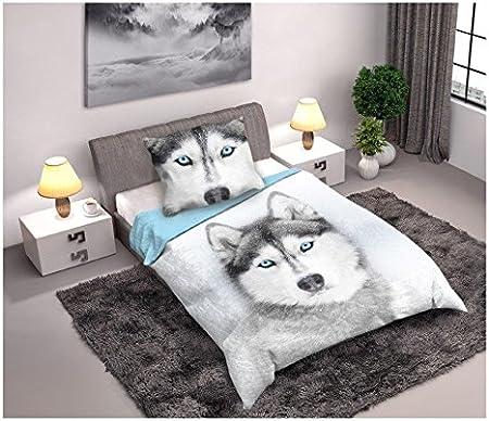 Husky linge de lit housse de couette 160x2