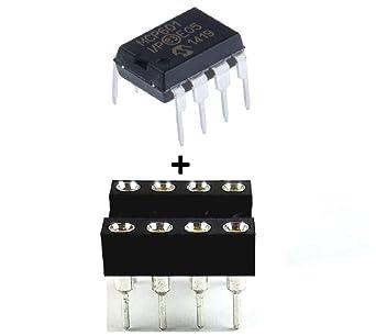 Microchip mcp601-i/P Amplificador Operacional, Single, 2.8 MHz, 1 amplificador