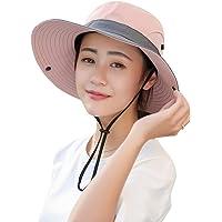 LIOOBO Sombrero de ala Ancha para Mujer, Visera