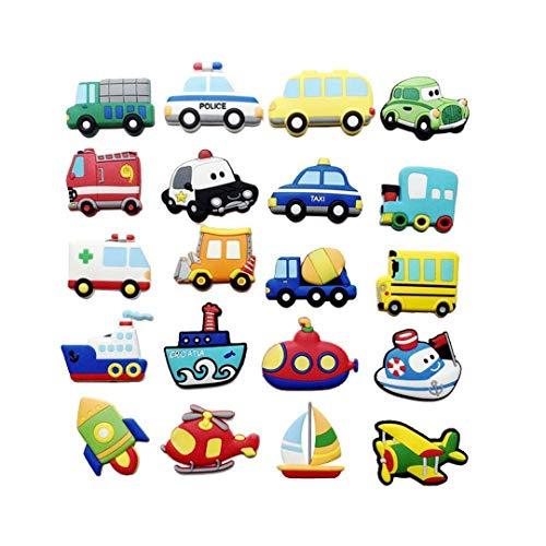 1Pc 3D Refrigerator Car Stickers Cartoon Fruit Fridge Sticker DIY Children Early Education Magnetic R om ()