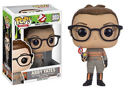 Ghostbusters 2016 - Abby Yates Pop Figure Toy 3 x 4in by
