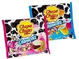 yogurt ice cream - Chupa Chups Cremosa Lollipops 2-Flavor Variety: One 16.93 oz Bag Each of Ice Cream and Yogurt in a BlackTie Box (2 Items Total)