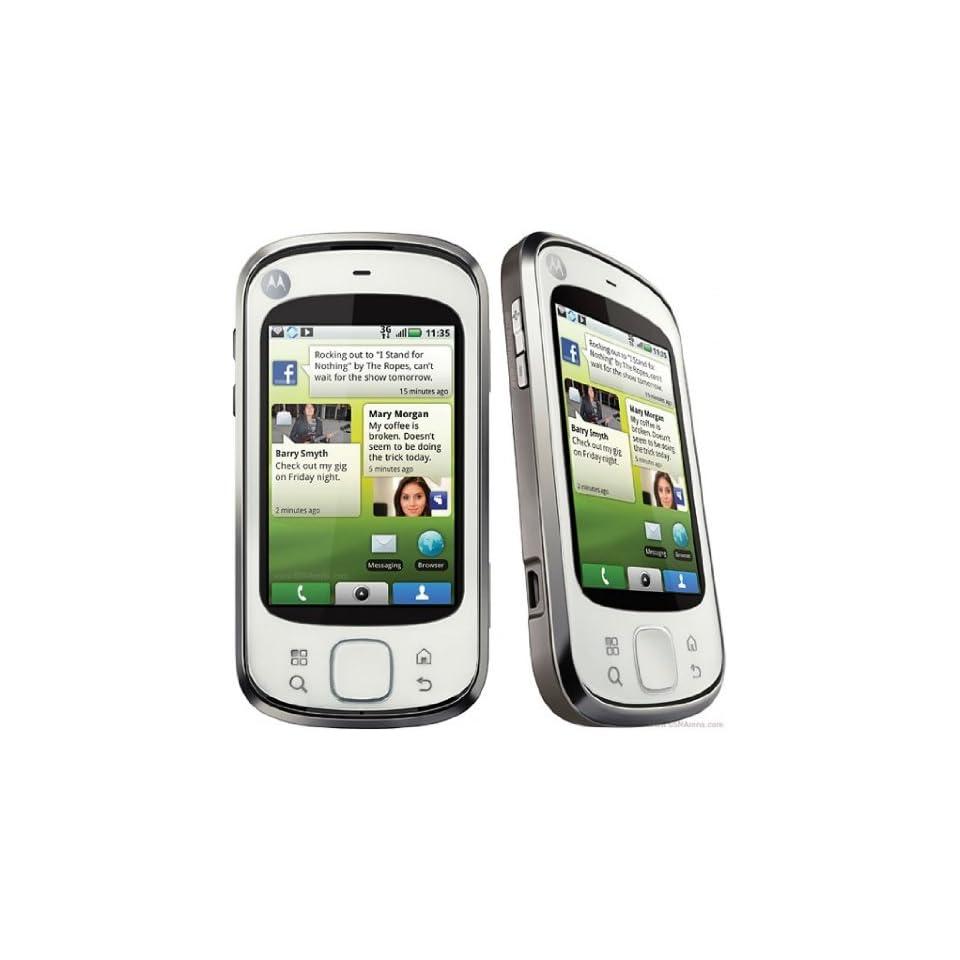 Motorola Mb501 Cliq Xt unlocked GSM Phone Touchscreen   White