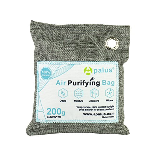 ted Charcoal Air Freshener, Deodorizer and Purifier Bags,100% Natural & Chemical Free, 200G ()