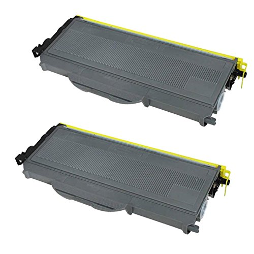 Generic Compatible Toner Cartridge Compatible w/ Brother TN-360 High Yield, Black, Compatible 2 Pack