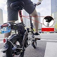 Bicicleta Eléctrica Plegable Ligera Y De Aluminio Con Pedales ...