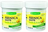 De La Cruz Arnica Salve / Pomade de Arnica 2 Ounces (2 Pack)