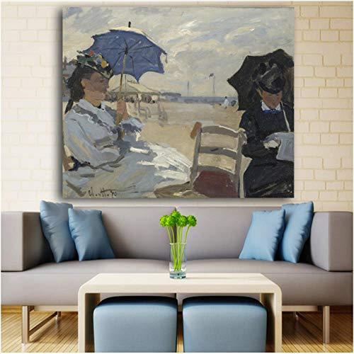 Pintura Al Oleo Cuadro En Lienzo Pinturas De Paisajes De Imitacion Impreso En Lienzo Pintura Colgar Cuadro Famoso Pintura Al Oleo Pared-40cmx5