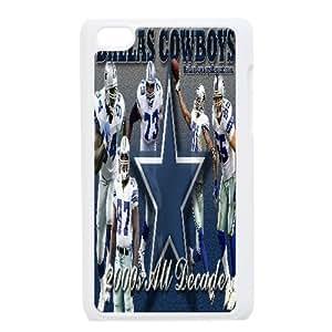 Dallas Cowboys Series, Ipod Touch 4 Cases, Dallas Cowboys Players Cases for Ipod Touch 4 [White]