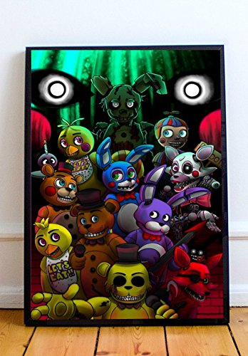 five nights at freddys art