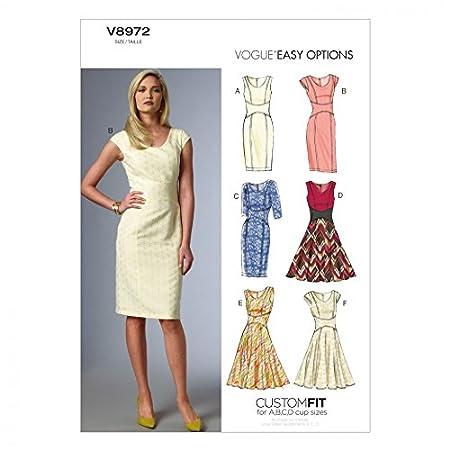 Vogue Sewing Pattern V8828 Women/'s Dress