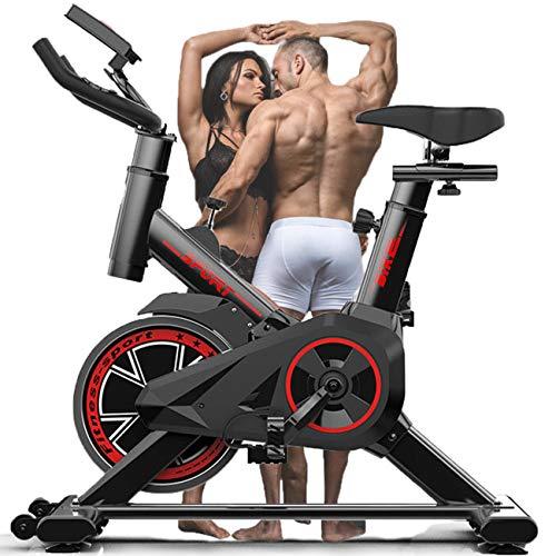 Oefening F-Bike Home Trainer Met LCD-monitor Handpulssensoren, Upright Exercise Spinning Bike Indoor Studio Cycles…