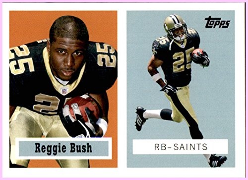 2006 Topps Turn Back the Clock #9 Reggie Bush NEW ORLEANS SAINTS USC TROJANS