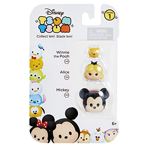 Tsum 3 Pack Figures Mickey Alice