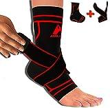 Best Plantar Fasciitis - Plantar Fasciitis Sock Sleeve with Ankle Brace Strap Review