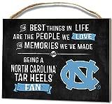 KH Sports Fan 4''X5.5'' North Carolina (Chapel Hill) Tar Heels Best Things Small College Plaque