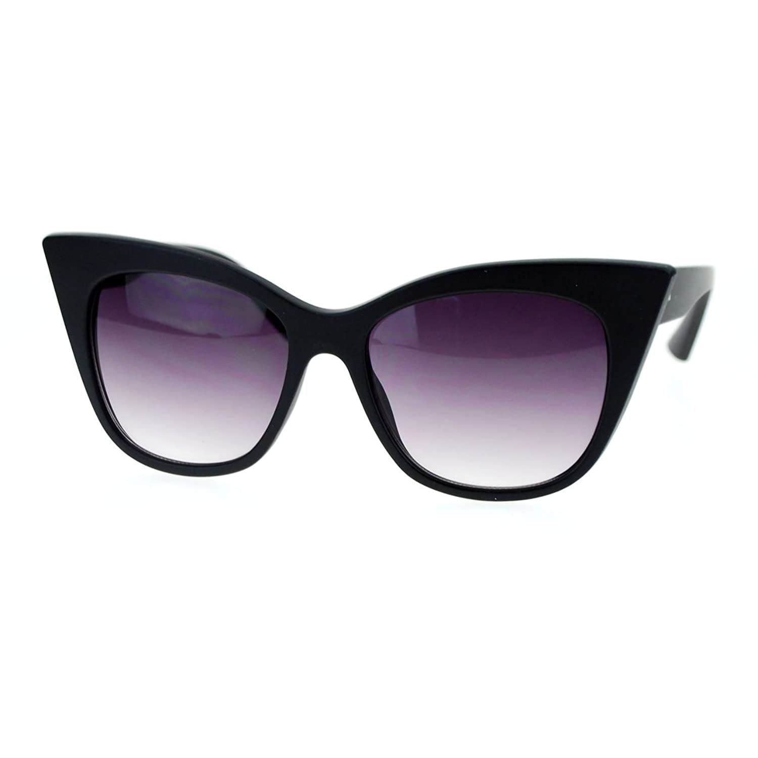 Fashion Womens Sunglasses Oversized Square Cateye Butterfly Frame