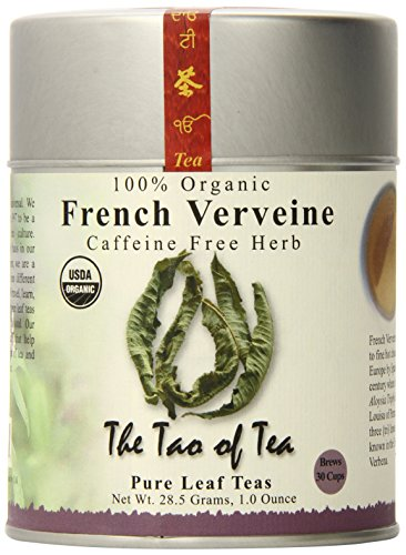 (The Tao of Tea, French Verveine Herbal Tea, Loose Leaf, 1-Ounce Tins (Pack of 4))