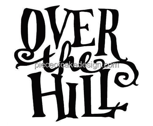 over the hill cakes shop over the hill cakes online rh caketoppers online com over the hill 50th birthday clip art