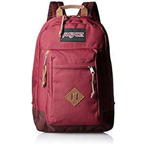 "JanSport Mens Classic Specialty Reilly Backpack - Viking Red / 17""H X 12.5""W X 5""D"