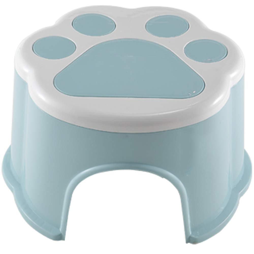 Amyannie Stool Plastic Bench Stool Children's Stool Wash Hand Cartoon Wash Non-Slip Step Stool Foot Baby Stool