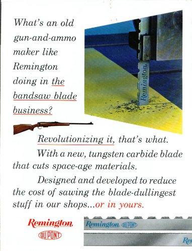 - Remington Tungsten Carbide Blade folder 1972