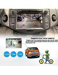 7 pulgadas coche DVD estéreo especial para Toyota RAV4 2006 2012 con sistema operativo Windows Ce 6.0 y 2 Din en plato, asiento con reproductor de DVD Multimedia Sistema de soporte GPS navegación RDS Radio Bluetooth, NVGOTEV
