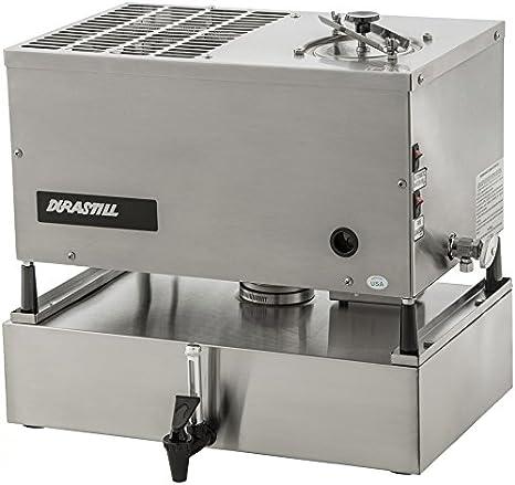 Durastill - Destilador de agua de llenado manual, 46 litros al día, con reserva de 15 litros - Hecho en Estados ...