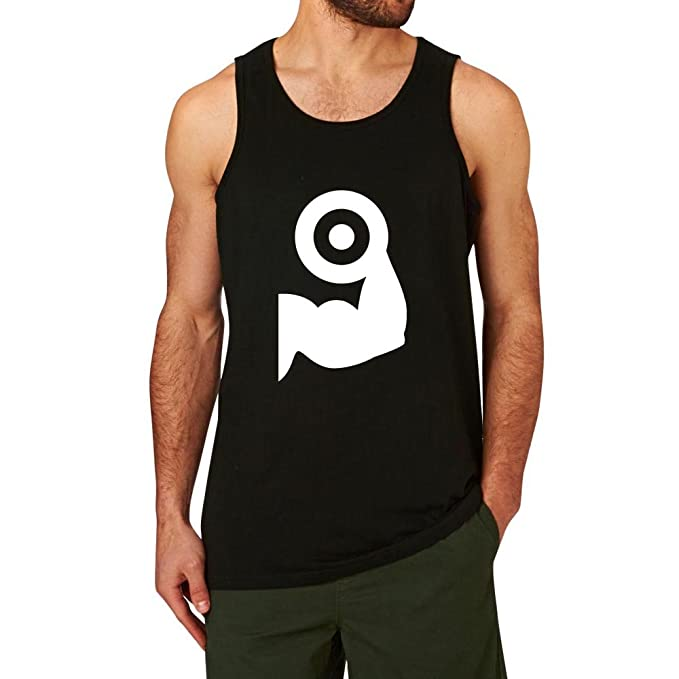5d570fc245e97 Amazon.com  Loo Show Fitness Dumbbell Gym Workout Tank Tops Graphic men   Clothing