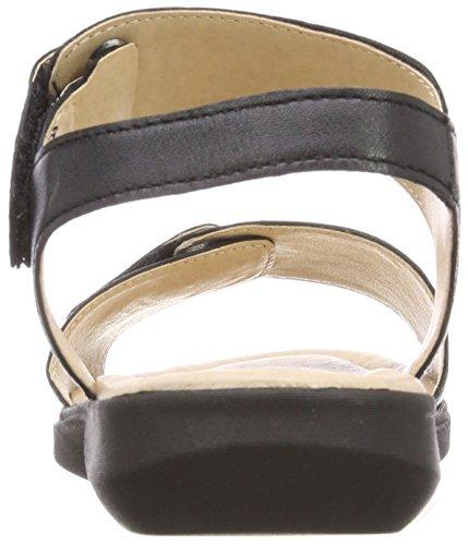 Sandales 22 Bride Black 28600 Noir Caprice Femme arrière Nappa z1Pw5W6q7
