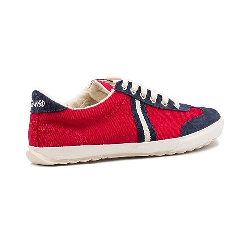 El Ganso M Match Canvas Ribbon, Zapatillas de Deporte Unisex Adulto, Rojo (Red), 42 EU: Amazon.es: Zapatos y complementos