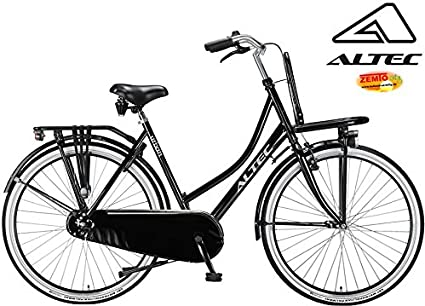 Altec Urban Bicicleta Holandesa para Mujer 28 Pulgadas Negro 50 cm ...