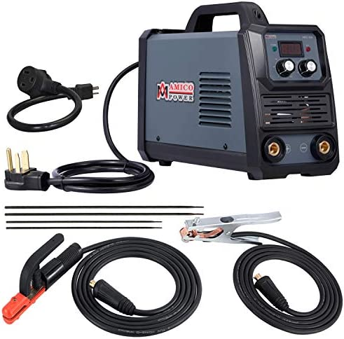 Amico ARC-200, 200 Amp Pro. Stick Arc DC Inverter Welder, 80 Duty Cycle, 100 250V Wide Voltage Welding Machine
