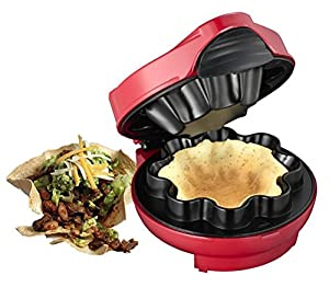 Taco Maker Waffel Schalen Nachtisch Eis Becher Schüssel Tortillas Melissa...