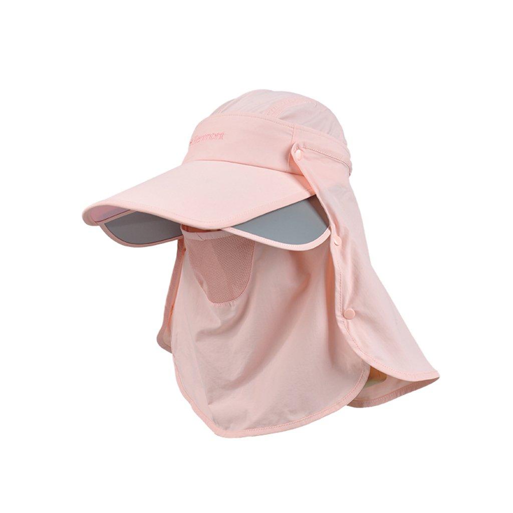 サンバイザー女性の日焼け止めUVプロテクションラージファルダブルワイルドサマーファッション (色 : E, サイズ さいず : 56.5cm) 56.5cm E B07DPF7LV5